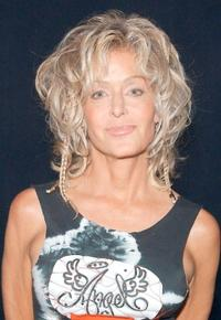 Farrah Fawcett at the MTV Networks Upfront 2003 presentation.