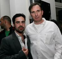 Jesse Bradford and Wayne Federman at the wrap party and DVD release party of