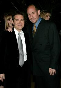 Michael Feinstein and Miquel Ferrer at the Rosemary Clooney's Life And Career Celebrated by her family.