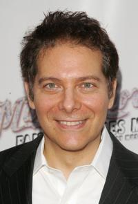 Michael Feinstein at the opening night of