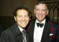 Michael Feinstein and Peter Grosslight at the William Morris Agency Post Grammy Party.