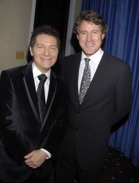 Michael Feinstein and Tony Griffin at the 53rd Annual Young Musicians Foundation Gala, celebrating Merv Griffin.