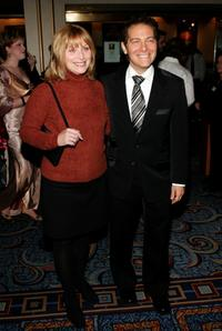 Roslyn Kind and Michael Feinstein at the opening night play of
