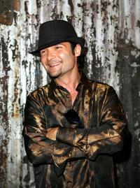 Corey Feldman at his 35th Birthday Bash.