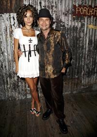Corey Feldman and wife Susie Feldman at the Corey's 35th birthday bash.