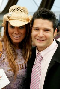 Corey Feldman and Traci Bingham at the 12th Annual Safari Brunch, a fundraiser for the Wildlife Waystation.