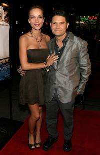 Corey Feldman and Susie Feldman at the screening of
