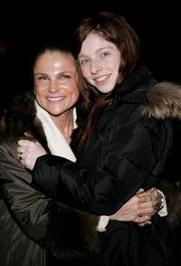 Tovah Feldshuh and her daughter Amanda Claire Levy at the opening night of