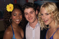 Regina Hall, Jon Abrahams and Anna Faris at the New York premiere of