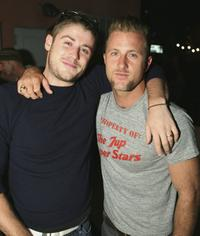 Jon Abrahams and Scott Caan at the Some Odd Rubies West Coast Store Opening.