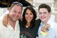 Mark Addy, Jami Gertz and Taylor Ball at the Twentieth Century Fox Television's New Season Party.