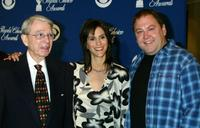 Army Archerd, Jami Gertz and Mark Addy at the 29th Annual Choice Awards Nominations.