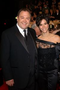 Mark Addy and Jami Gertz at the 29th Annual People's Choice Awards.