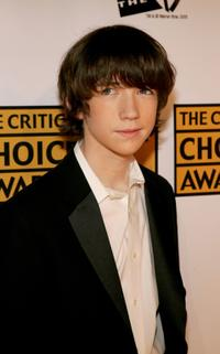 Liam Aiken at the 10th Annual Critics' Choice Awards.