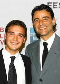 Francisco Casa and Vincenzo Amato at the premiere of