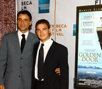 Vincenzo Amato and Francisco Casa at the premiere of