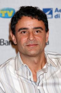 Vincenzo Amato at the Roma Fiction Fest 2008.