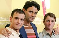 Filippo Pucillo, Vincenzo Amato and Francesco Casisa at the photocall of