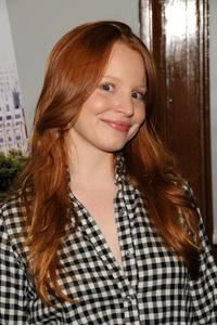 Lauren Ambrose at the Epiphany Branch Library.