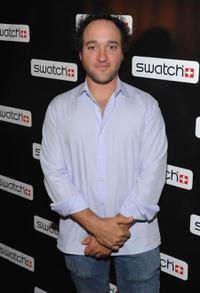 Gregg Bello at the Swatch CreArt Collection Launch party.