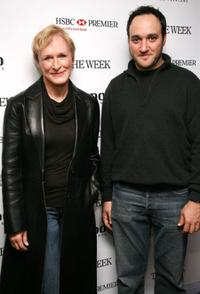 Glenn Close and Gregg Bello at the In-house screening of