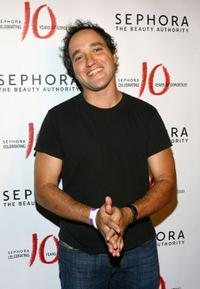Gregg Bello at the party celebrating the beauty product store Sephora's 10 year anniversary.