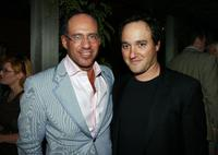 Andrew Saffir and Gregg Bello at the after party of the screening of