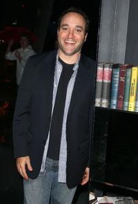 Gregg Bello at the after party of the screening of