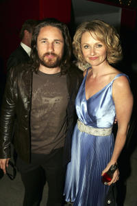 Martin Henderson and Rachael Blake at the 6th Annual Lexus IF Awards in Sydney.