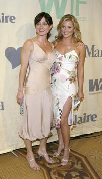 Sasha Alexander and Jessica Capshaw at the 2004 Crystal and Lucy Awards -