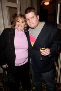James Corden and guest at the Sony Ericsson Empire Awards 2008.