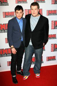 Mathew Horne and James Corden at the Shockwaves NME Awards 2008.
