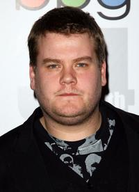 James Corden at the Broadcasting Press Guild (BPG) Television and Radio Awards.