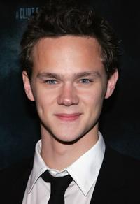Joseph Cross at the premiere of