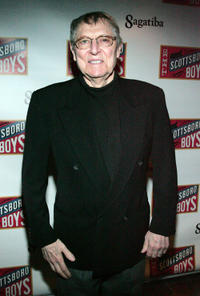 John Cullum at the Broadway opening night of