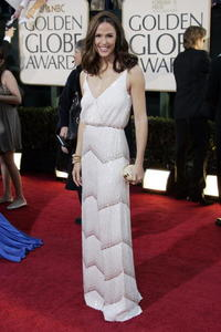 Jennifer Garner at the 64th Annual Golden Globe Awards.