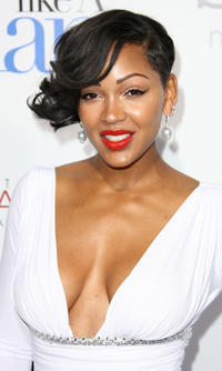 Meagan Good at the California premiere of
