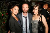 Samantha Gutstadt, Jacob Tierney and Emily Hampshire at the Alliance party during the 2010 Toronto Film Festival.