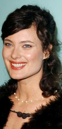 Shalom Harlow at the premiere of