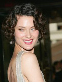 Shalom Harlow at the 2006 CFDA Awards.