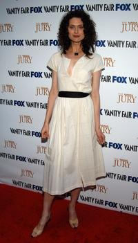 Shalom Harlow at the launch party of