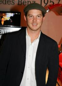 Shawn Hatosy at the Mercedes Benz Fashion Week.