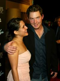 Shawn Hatosy and Lizzy Press at the premiere of