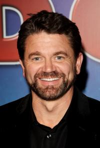 John Michael Higgins at the afterparty following the premiere of