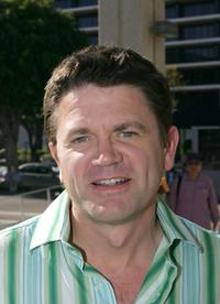 John Michael Higgins at the opening of