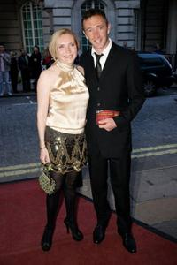 Ralph Ineson and Guest at the premiere of