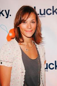 Rashida Jones at the Lucky Magazine's VIP Preview to benefit the Robin Hood Foundation.
