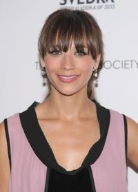 Rashida Jones at the Cinema Society and Details screening of