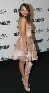 Rashida Jones at the 2007 Glamour magazine Women of the Year awards.