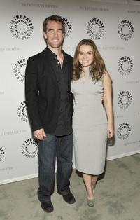 James Van Der Beek and Monica Keena at the Paley Center for Media's